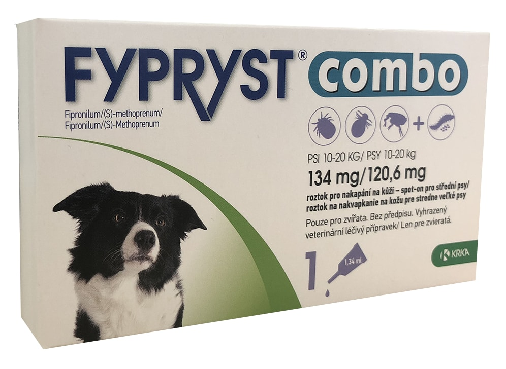 FYPRYST Combo M 134/120,6 mg spot-on Dog 3 x 1,34 ml