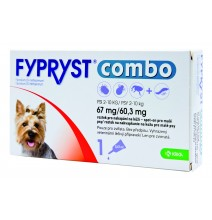FYPRYST Combo S 67/60,3 mg spot-on Dog 3 x 0,67 ml