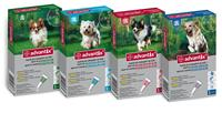 Advantix pes od 10 do 25 kg spot-on sol. 4 x 2,5 ml