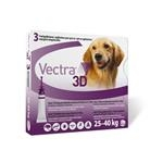 Vectra 3D dog L 25 - 40 kg 3 pipety