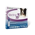 Vectra 3D dog M 10 - 25 kg 3 pipety