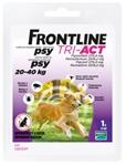 Frontline Tri-Act spot-on pre psy L 20-40 kg sol. 1 x 4 ml