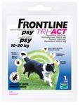 Frontline Tri-Act spot-on pre psy M 10-20 kg sol. 1 x 2 ml