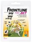 Frontline Tri-Act spot-on pre psy S 5-10 kg sol. 1 x 1 ml
