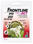 Frontline Tri-Act spot-on pre psy XL 40-60 kg sol. 1 x 6 ml