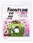 Frontline Tri-Act spot-on pre psy XS 2-5 kg sol. 1 x 0,5 ml