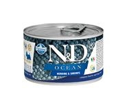 Farmina N&D dog OCEAN Herring & Shrimps konzerva 140 g