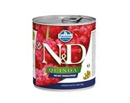 Farmina N&D dog QUINOA Weight management konzerva 285 g