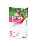 Ataxxa 500 mg/100 mg spot-on sol. pes od 4 do 10 kg 4 x 1,0 ml