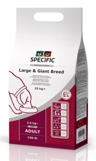 SPECIFIC CXD-XL Adult Large & Giant Breed, 2,5 kg
