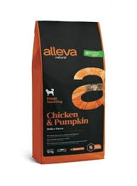Alleva NATURAL dog chicken&pumpkin adult maxi 2 kg