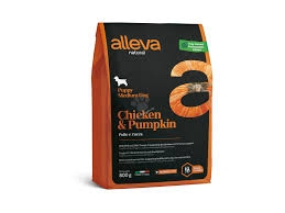Alleva NATURAL dog chicken&pumpkin puppy medium 12 kg