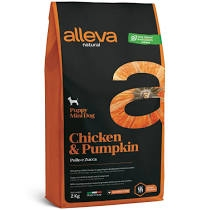 Alleva NATURAL dog chicken&pumpkin puppy mini 2 kg