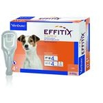 Effitix S 67 mg/600 mg spot-on psy (4 - 10 kg ) 4 pipety