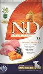 Farmina N&D dog GF PUMPKIN puppy mini lamb & blueberry 2,5 kg