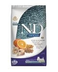 Farmina N&D dog OCEAN adult mini Codfish, spelt, oats & orange 2,5 kg