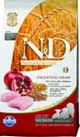 Farmina N&D dog LG puppy medium&maxi chicken,spelt,oats&pomegranate 12 kg