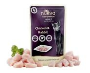 NUEVO cat Adult Chicken & Rabbit 85 g kapsičky
